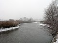 Ukraine Irpen 2010. First snow. River Irpen 5.jpg