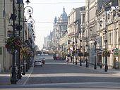 Ulica Piotrkowska in Lodz.JPG