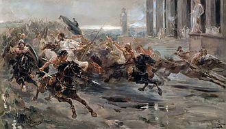 Ulpiano Checa - Invasion of the Barbarians