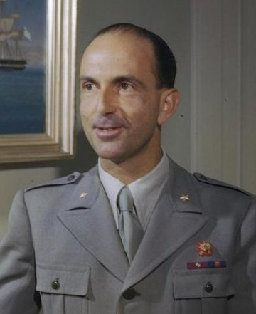 Umberto II, the last king of Italy