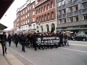 Ungdomshuset - 1 May 2006 demonstration