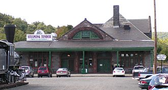 Union Station (Palmer, Massachusetts) - Image: Union Station, Palmer, Mass