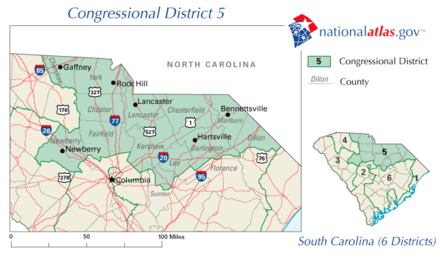 South Carolina s 5th congressional district Wikiwand