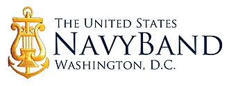 United States Navy Band - Image: United States Navy Band official logo