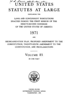 United States Statutes at Large Volume 85.djvu