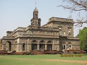 Savitribai Phule Pune University - Main building of Pune University