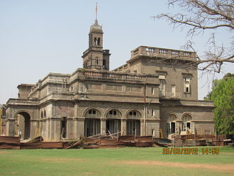 Savitribai Phule Pune University - Main building of Pune University