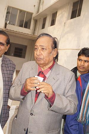 Gujarati cinema - Upendra Trivedi, one of the most successful Gujarati actors and producers.