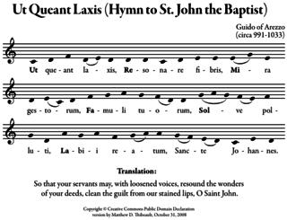 Ut queant laxis psalm