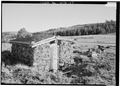 VIEW OF POWDER HOUSE - Duncan Mine, South Pass City vicinity, South Pass City, Fremont County, WY HABS WYO,7-SOPAC.V,2-9.tif