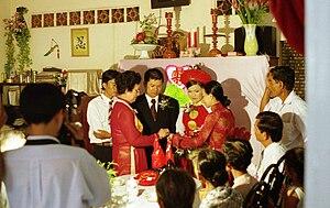 Women in Vietnam - Traditional Vietnamese country wedding ceremony