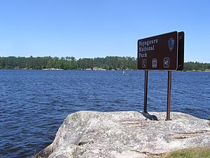 Voyageurs National Park - Kabetogama Lake Narrows