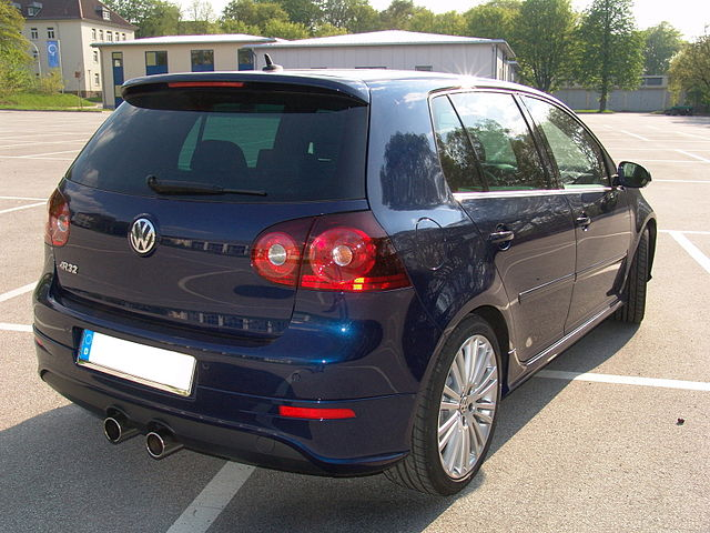 Image of VW Golf R32 heck
