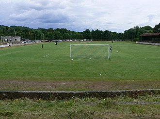 Millburn Park - Image: Vale of Leven Football and Athletic Club geograph.org.uk 503490