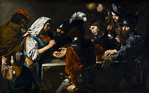 Valentin de Boulogne - Fortune-teller with Soldiers