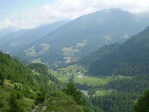 Valle Germanasca - View of the valley