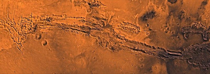 Resultat d'imatges de valles marineris