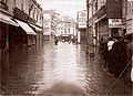 Valparaíso, calle Condell inundada - 1920.jpg