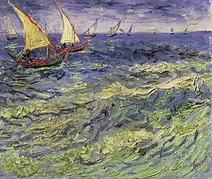 Saintes-Maries (Van Gogh series) - Image: Van Gogh Fischerboote bei Saintes Maries 1