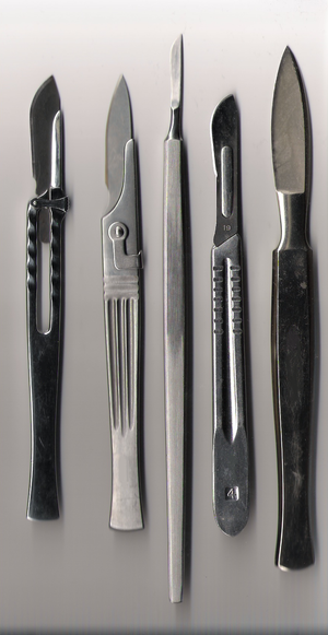 Surgical instrument - Various scalpels