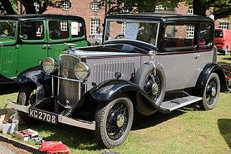 Vauxhall Cadet - Fixed-head coupé 4-light 1933