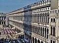 Venezia Basilica di San Marco Terrasse Blick auf die Piazza San Marco 7.jpg