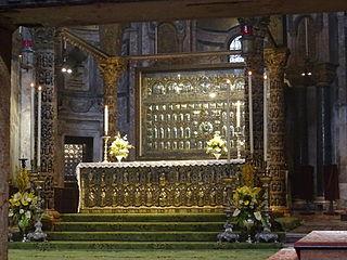Pala dOro altar in the Basilica di San Marco,  Venice