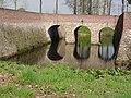 Venray Geijsteren, Rijksmonument 28441 kasteelruine voorste grachtbrug.JPG