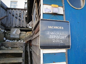 Ventnor Steephill Cove restaurant vacancy notice.JPG