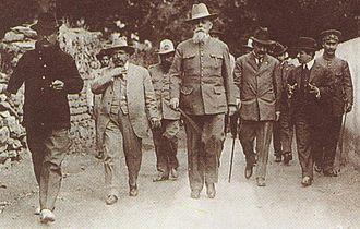 Venustiano Carranza - President Carranza in La Cañada, Querétaro, 22 January 1916.