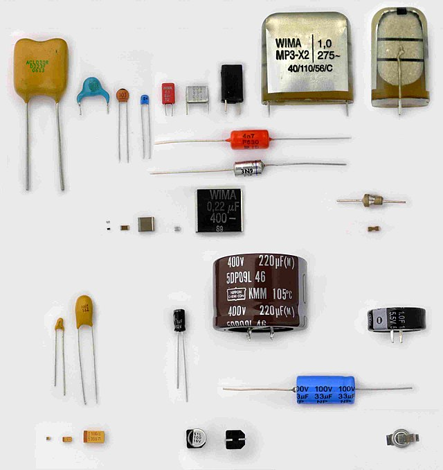 Kondensator (Elektrotechnik) Wikiwand