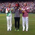 Victoria Azarenka, Serena Williams and Maria Sharapova with medals 2012.jpg