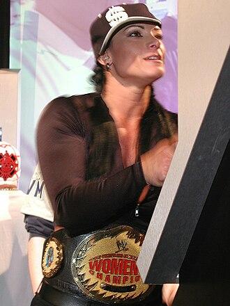 WrestleMania XX - Victoria as WWE Women's Champion entering the event.