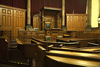 Courtroom - A historic courtroom in Nottingham, United Kingdom