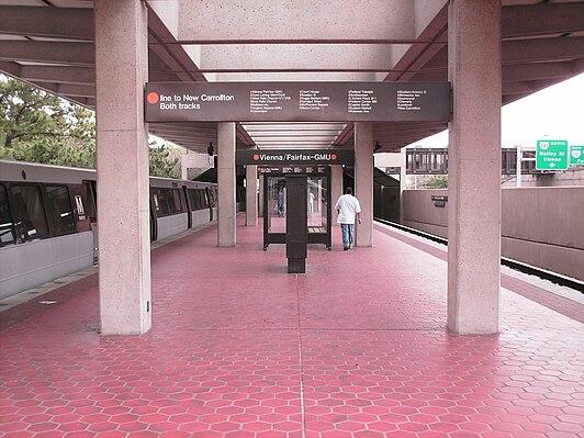 Vienna station (Washington Metro)