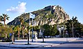 View of Kapodistrias Square in Nafplio and in the background the Venetian Fortress of Palamidi.jpg