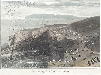 Puffin Island (Anglesey) - View on Puffin Island, 1815