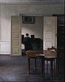 Vilhelm Hammershøi - Interior with Ida Playing the Piano - Google Art Project.jpg