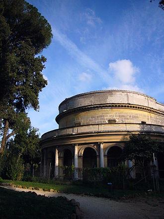 Villa Torlonia (Rome) - Theater, Villa Torlonia, Rome.