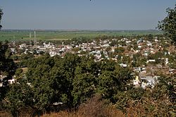 Village Sanchi from the Sanchi hill