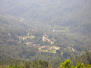 Rezza Commune in Corsica, France