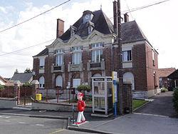 Villequier-Aumont (Aisne) mairie.JPG
