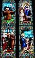 Villeréal - Eglise - Vitrail Histoire de saint François.jpg