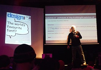 """Comic Sans - Vincent Connare explaining in 2009 how he came to create """"the world's favorite font"""""""