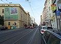 Vinohrady, Vinohradská 117 a tramvaj.jpg