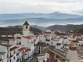Canillas de Aceituno - View of Canillas de Aceituno
