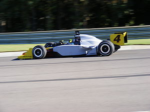 Vítor Meira - Meira testing at Barber Motorsports Park during the 2007-2008 off-season