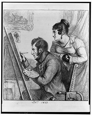 Vivant Denon - Self-portrait, 1823