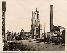 Vlamertinghe (Ypres area), destroyed church (19704243578).jpg