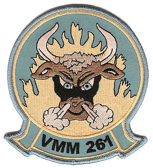 VMM-261 - Image: Vmm 261 squadron insignia